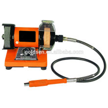 "75mm 3 ""100W Jewelers Bench Grinder con eje flexible GW8062-2"
