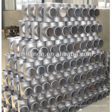 Tubo de aço inoxidável de alta pressão sem costura A335 P5 zinco cool -dip