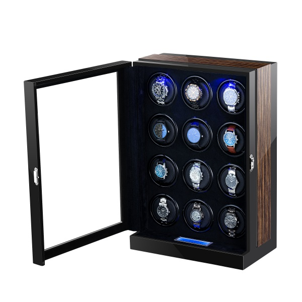 Tweleve rotors automatic watch winder