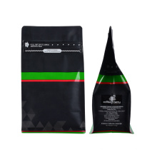 Customized Zip Lock Laminated Foil Metalized Coffee Bag with Valve