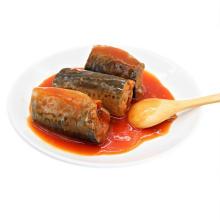 canned mackerel in tomato sauce 425g/in brine