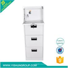anti tilt high quality safe 4 drawer steel file cabinet