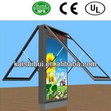 Alta qualidade rolagem caixa de luz para o sinal de publicidade
