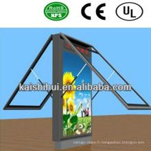 Boîte à lumière de défilement de haute qualité de LED / panneau d'affichage de signe