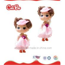 Lovely Children High Quality Toy Pink Plastic Dolls, Pretty