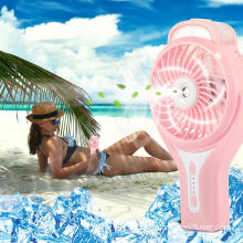 Mini USB Handheld Misting Fan com spray de água