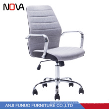 Modern Middle wholesale Back Fabric Material Swivel Ergonomic Office Chair