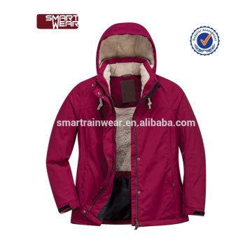 Wholesale parka lavado jaqueta mulheres acolchoadas jaqueta de inverno