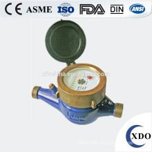 Kent brass body dry dial water meter