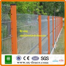 PVC-beschichteter Stahl-Trellis-Zaun-Maschendrahtzaun