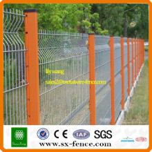 PVC coated steel trellis fence wire mesh fence