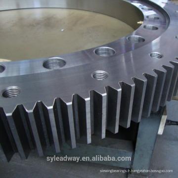 Roulements d'anneau de pivotement de haute précision pour le positionneur robotique