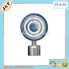 shower retractable curtain poles, stainless steel curtain pole with diamond