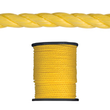 High quality PP twisted  rope cordage for marine usage in reel