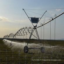Vente chaude Économie d'eau Système d'irrigation à pivot du centre de la ferme pour les grandes terres cultivées