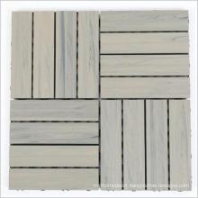 YUJIE DIY wood decking outdoor 300X300mm timber decking from factory