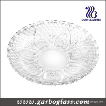 Assiette en verre et assiette en verre de 13 '' (GB2303LH)