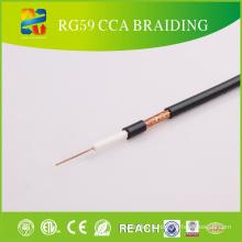 Câble standard du conducteur RG59 de 20 AWG