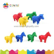 Jouet d'apprentissage éducatif, figures d'animaux de PVC pour l'éducation