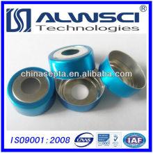 20mm Bi-metallic Aluminium Crimp Caps und Septa für CTC