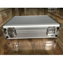 Caja de aleación de aluminio con bolsa de red en el borde
