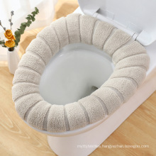 Winter Portable Sanitary Toilet Seat Cover Thickened Washable Toilet Seat Cushion