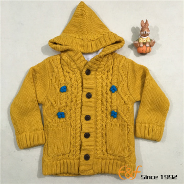 Hiver Double couche pull chaud pour fille