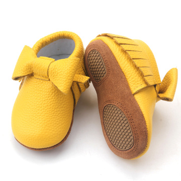 Chaussures en cuir Vente en vrac Infant Toddler Shoes bébé