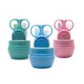 4Pcs Производство рекламных подарков Уход за младенцами OEM Набор для стрижки ногтей с ножницами