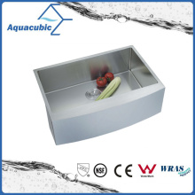 Hand Made Undermount Kitchen Sink with Drainer (ACS3021A1Q)
