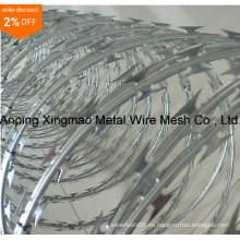 Venta caliente Cbt-65 Concertina Razor Barbed Wire Factory