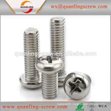 High quality low price button head machine screws