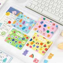 Rainbow Label Sticker for Masking Tape of Cut Designs Sticker