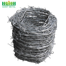 Sampel percuma DoubleTwisted PVC Coated Wire Barbed