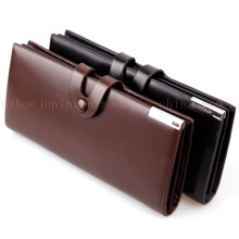 OEM Hasp Fashion Classical PU Purse Wallet for Promotional Gift