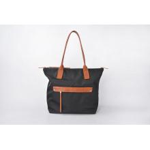Модные прочные черные нейлоновые женские сумки повседневные сумки