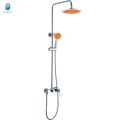 KDS-03 trading company plastic orange rubber hand shower watermark toilet mixers shower