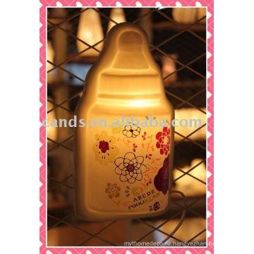 Современная роспись фарфора настенный светильник для украшения (CE,одобренное RoHS ,VDE и..)