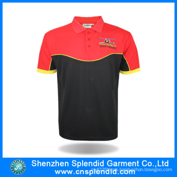 Apparel Manufacturers China Men Color Combination Sports Polo Shirt