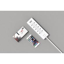 ORICO USP-10A3U-US Desktop toda a casa pequena Surge Protector outlet 10 * AC + 3 * USB Charger