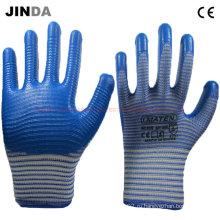 Перчатки с покрытием из нитрила с покрытием из зебры (U206)