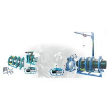 Soudeur à butée hydraulique homologué CE pour tube / tube en PEHD