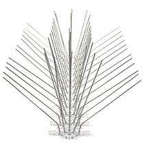 Сгибаемый зазубрина для птиц 50 см + основа из полипропилена 60 зазубрин 304 нержавеющая сталь шипы для птиц кошачьи зазубрины
