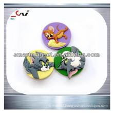 customized colorful promo pvc 3D fridge magnet