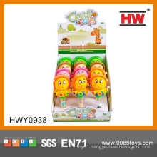 Hot Sale Cartoon Wind Up Octopus Plastic Candy Toy