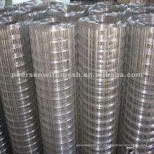 Faisceau métallique soudé galvanisé à chaud (usine) 1/4 '' - 6 ''