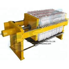 Leo Filterpresse Manuelle Filterpresse, Bedienung durch manuelle Filterpresse Hydrauliksystem