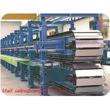 High speed with ISO standard used roller shutter cold discontinuous PU sandwich panel forming machine