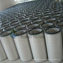 FORST Gas Turbine Intake Industrail Elemento do filtro de ar do papel