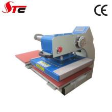 Machine de presse de la chaleur de double station de glissière